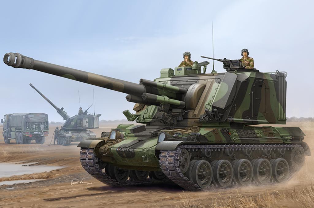 Hobby Boss 1/35 French GCT 155mm AU-F1 SPH