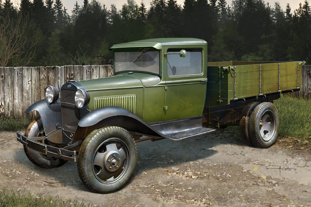 Hobby Boss 1/35 Soviet GAZ-AA Cargo Truck