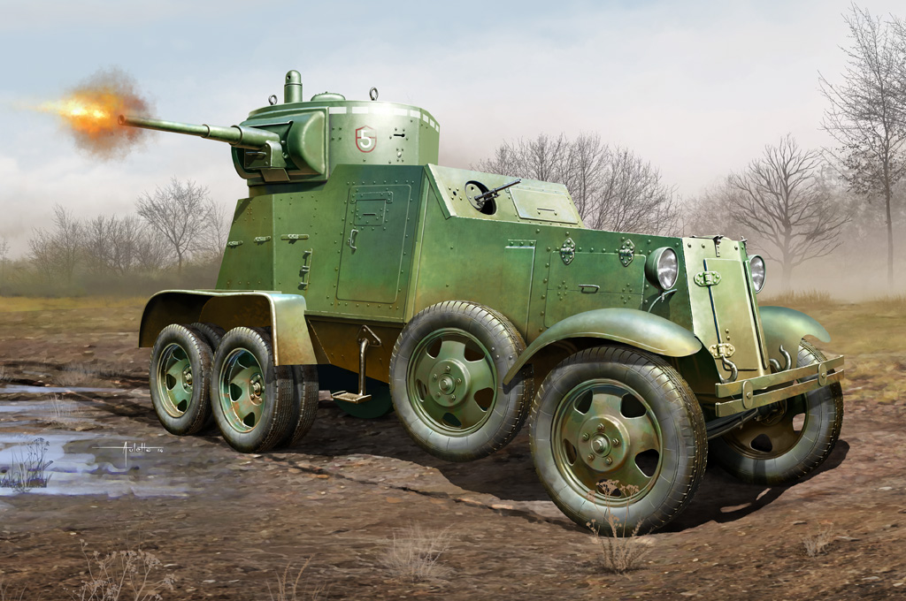 Hobby Boss 1/35 Soviet BA-3 Armor Car