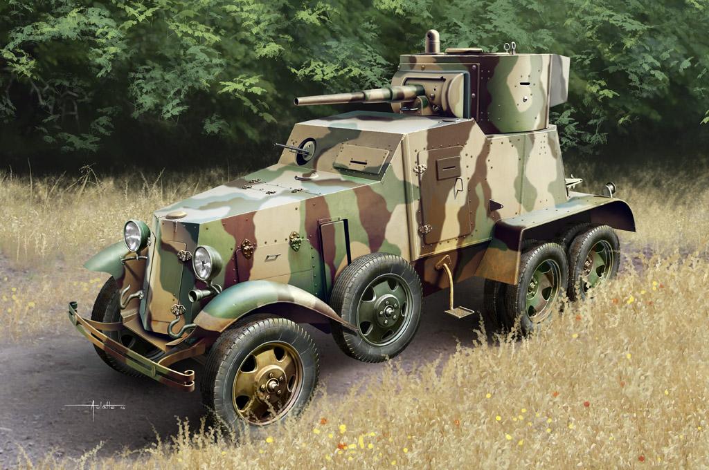 Hobby Boss 1/35 Soviet BA-6 Armor Car