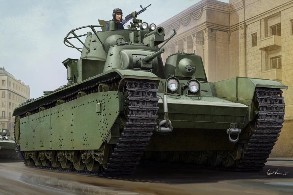 Hobby Boss 1/35 Soviet T-35 Heavy Tank - 1938/1939