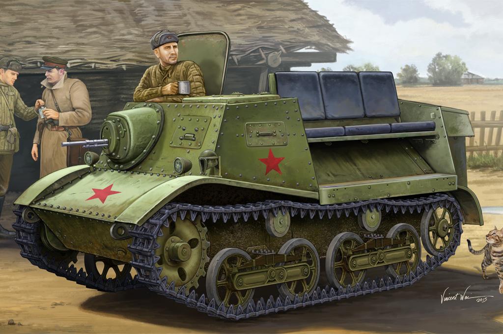 Hobby Boss 1/35 Soviet T-20 Armored Tractor Komsomolets 1938