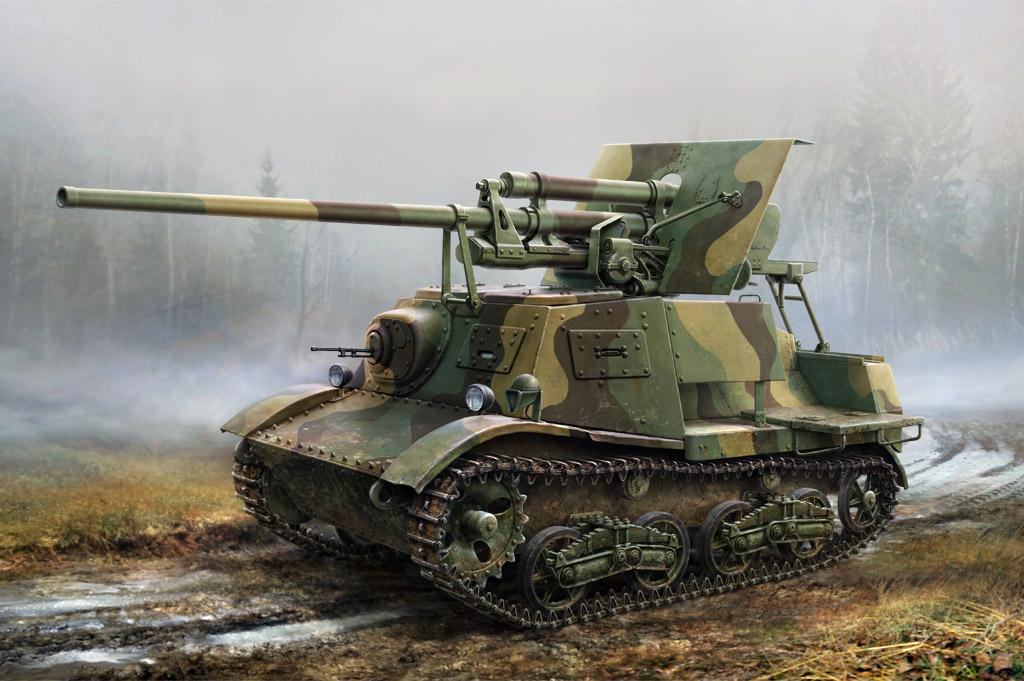 Hobby Boss 1/35 Soviet ZIS-30 Light Self-Propelled Anti-Tank Gun