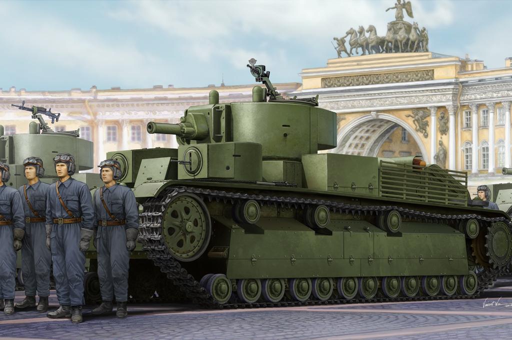 Hobby Boss 1/35 Soviet T-28E Medium Tank