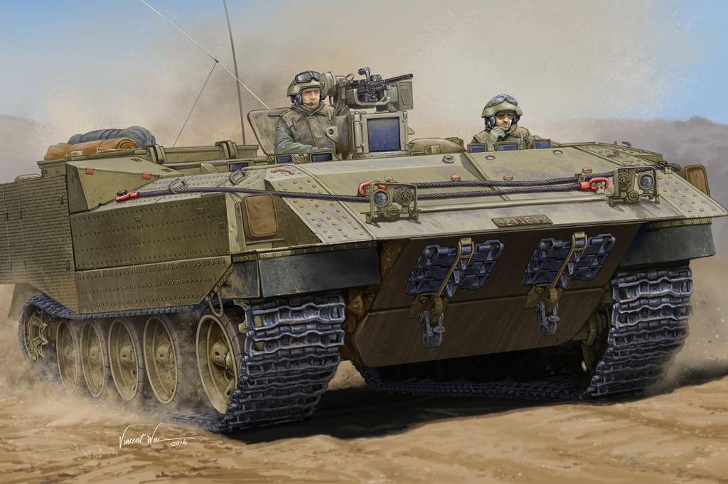 Hobby Boss 1/35 IDF Achzarit APC - Early