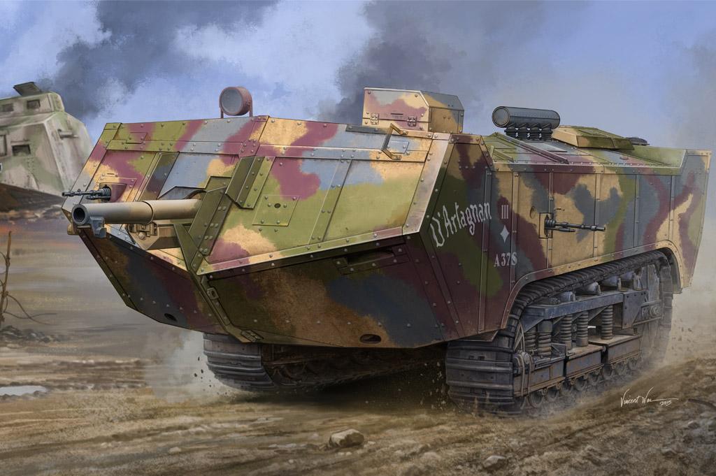 Hobby Boss 1/35 French Saint-Chamond Heavy Tank - Late