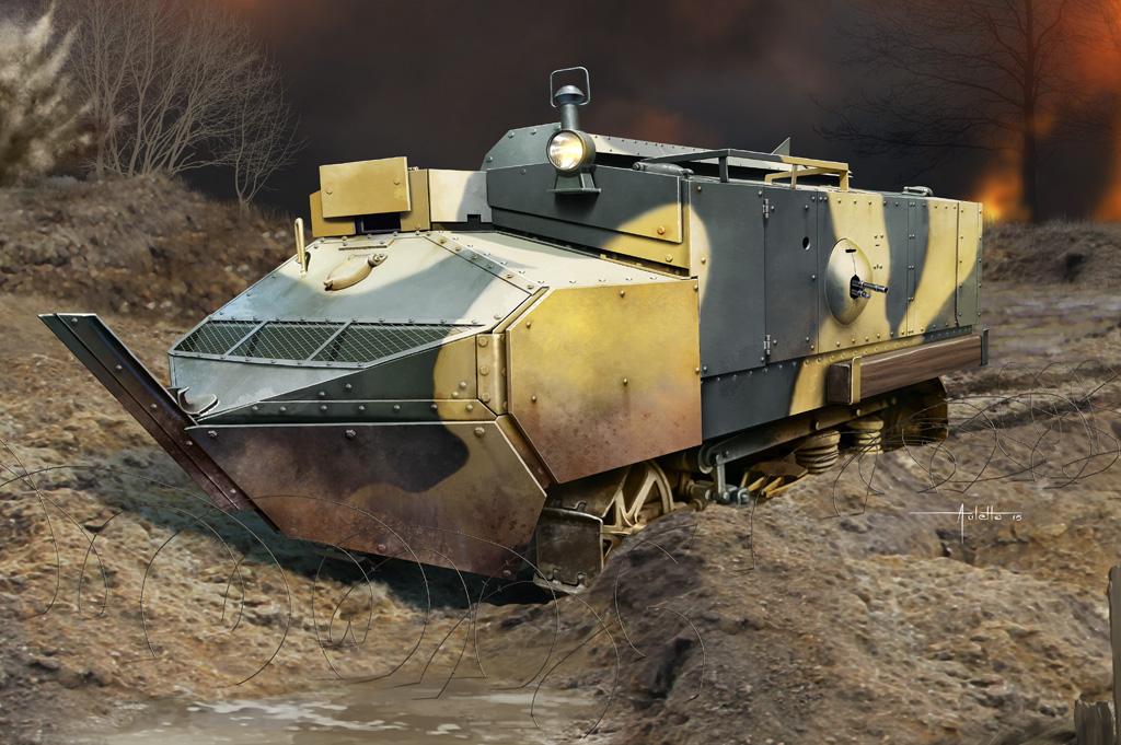 Hobby Boss 1/35 Schneider CA - Armored