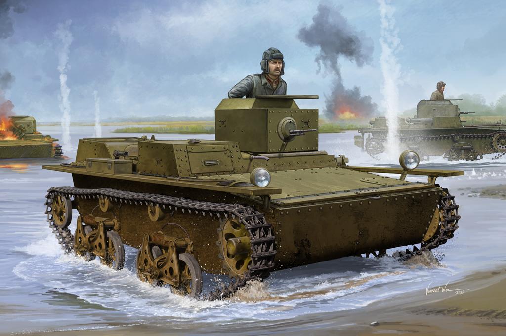 Hobby Boss 1/35 Soviet T-38 Amphibious Light Tank