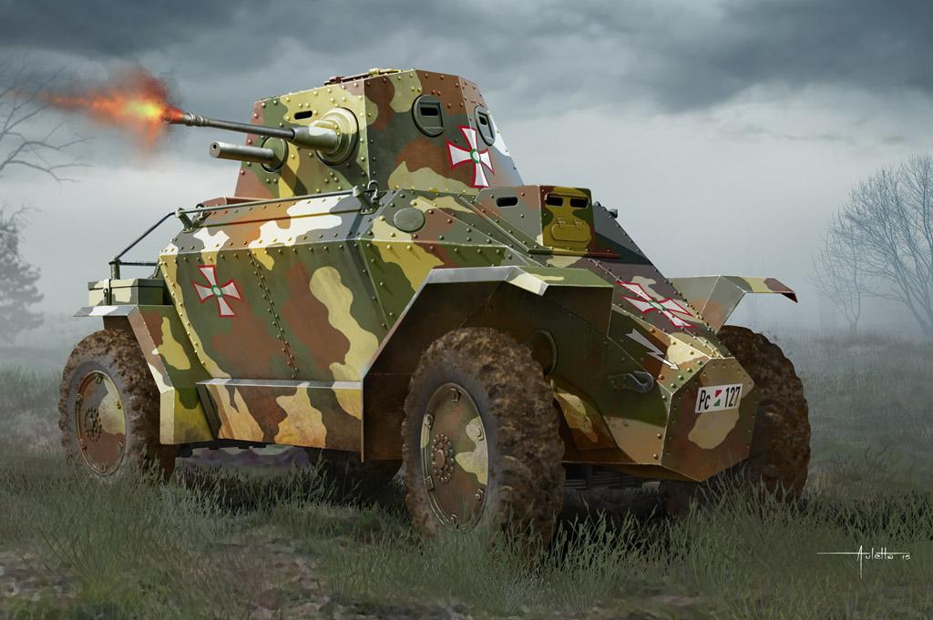 Hobby Boss 1/35 Hungarian 39M CSABA Armored Car