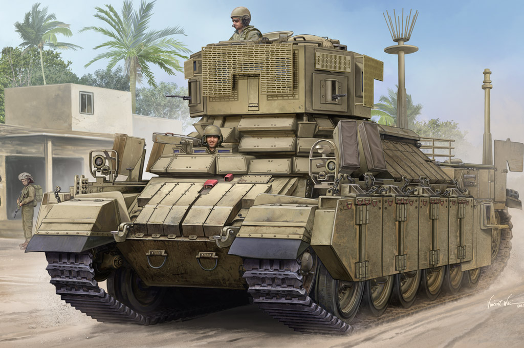 Hobby Boss 1/35 IDF APC Nagmachon(Doghouse I )