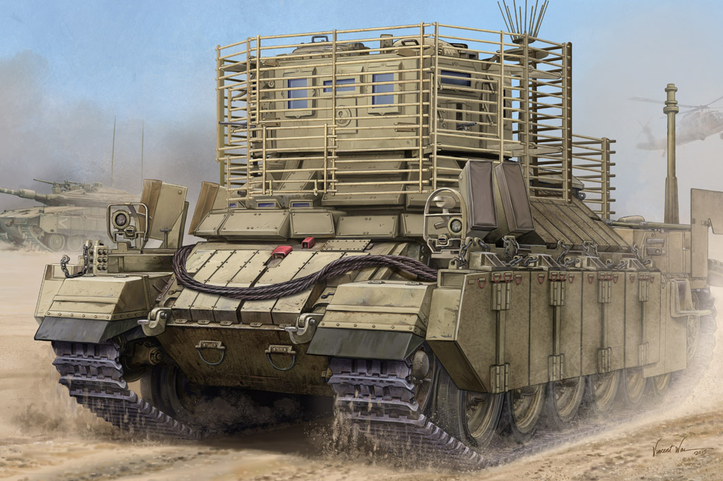Hobby Boss 1/35 IDF APC Nagmachon (Doghouse II)