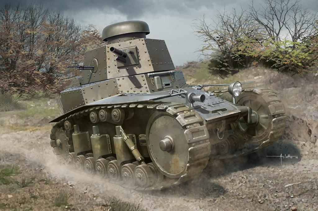 Hobby Boss 1/35 Soviet T-18 Light Tank MOD1927