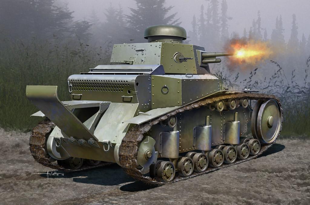 Hobby Boss 1/35 Soviet T-18 Light Tank Mod 1930