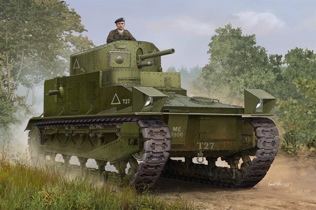 Hobby Boss 1/35 Vickers Medium Tank MK.I
