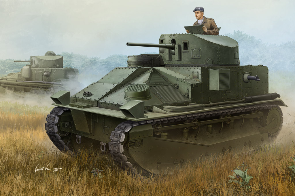 Hobby Boss Vickers Medium Tank MK II