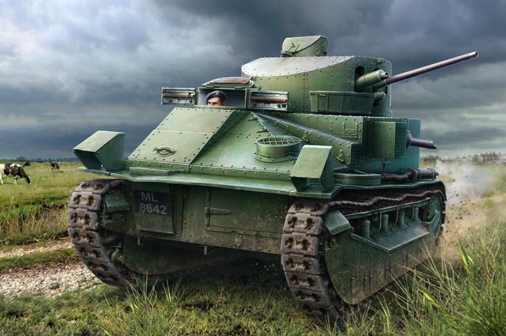 Hobby Boss 1/35 Vickers Medium Tank MK.II*