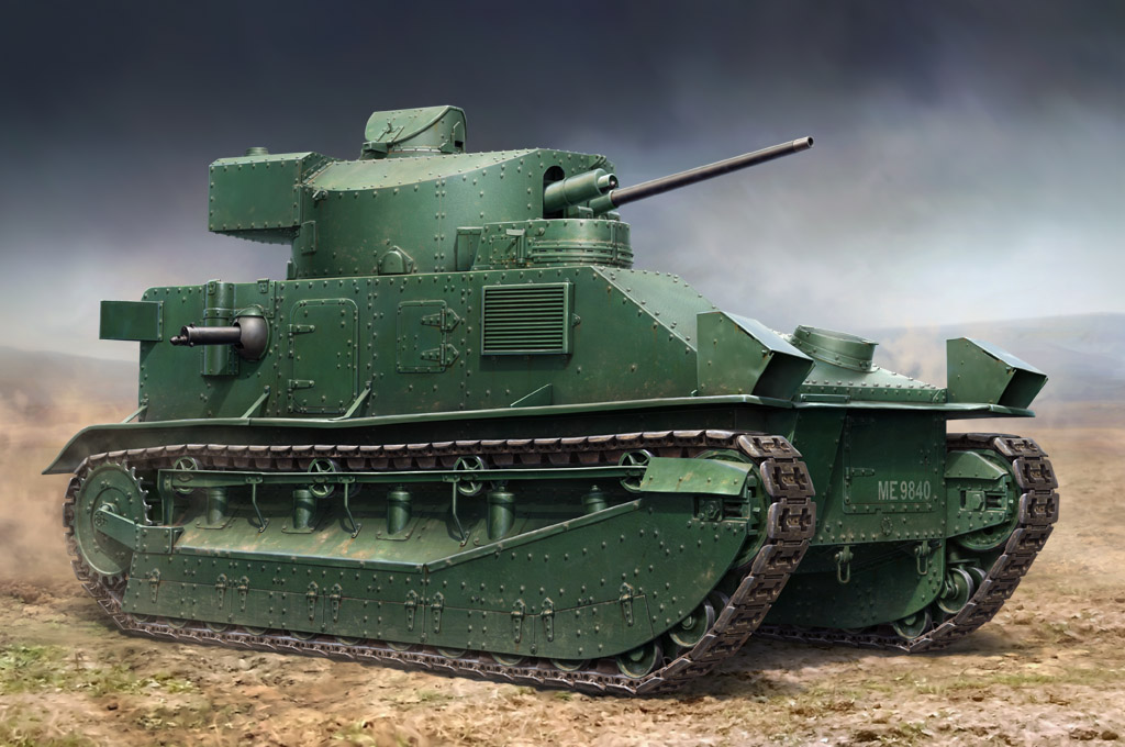 Hobby Boss Vickers Medium Tank MK II**