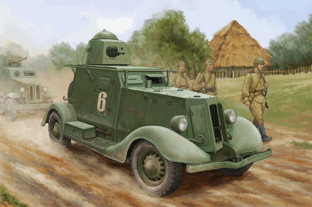 Hobby Boss 1/35 Soviet BA-20 Armored Car Mod.1937