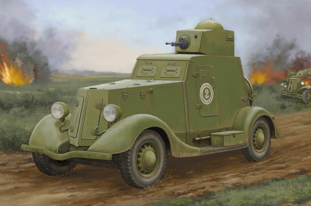 Hobby Boss 1/35 Soviet BA-20 Armored Car Mod.1939