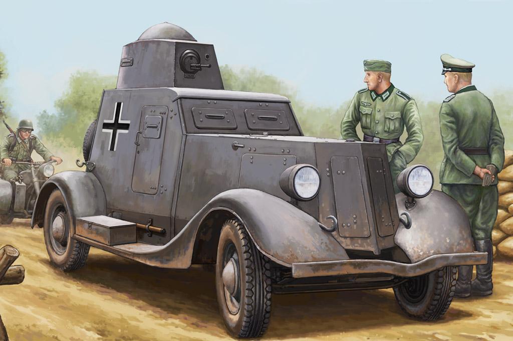 Hobby Boss 1/35 Soviet BA-20M Armored Car