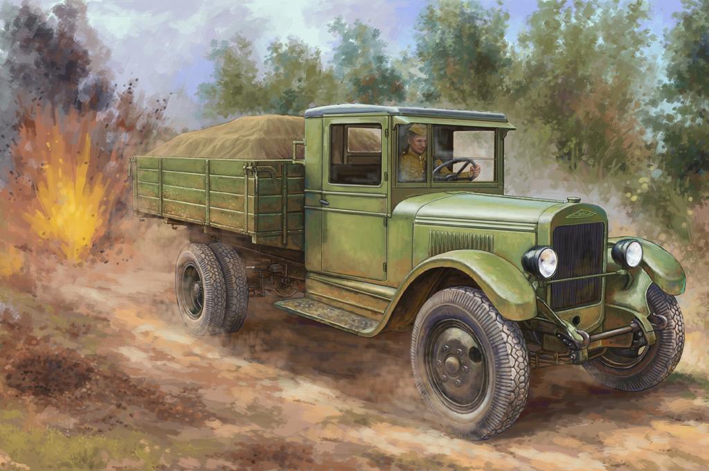 Hobby Boss 1/35 Russian ZIS-5 Truck