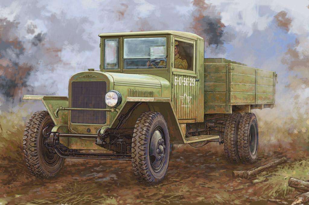 Hobby Boss 1/35 Russian ZIS-5B Truck