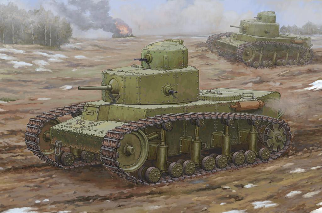 Hobby Boss 1/35 Soviet T-12 Medium Tank
