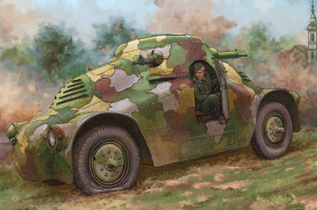 Hobby Boss 1/35 Skoda PA-2 Turtle