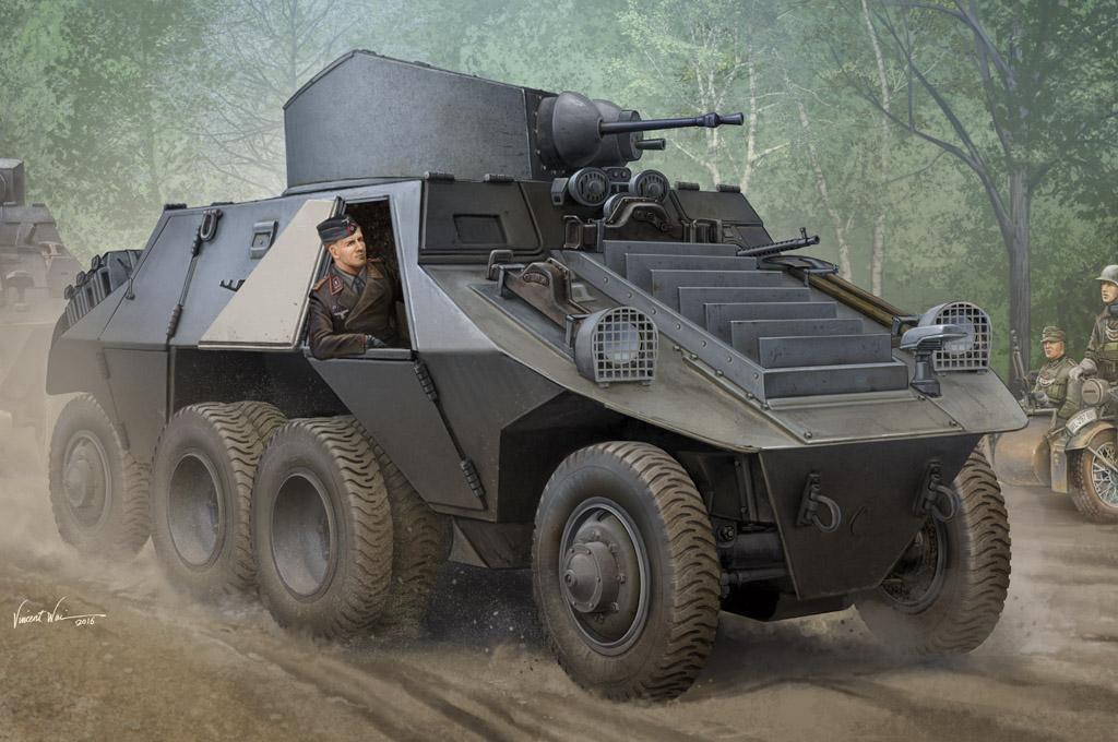 Hobby Boss 1/35 M35 Mittlere Panzerwagen (ADGZ-Daimler)