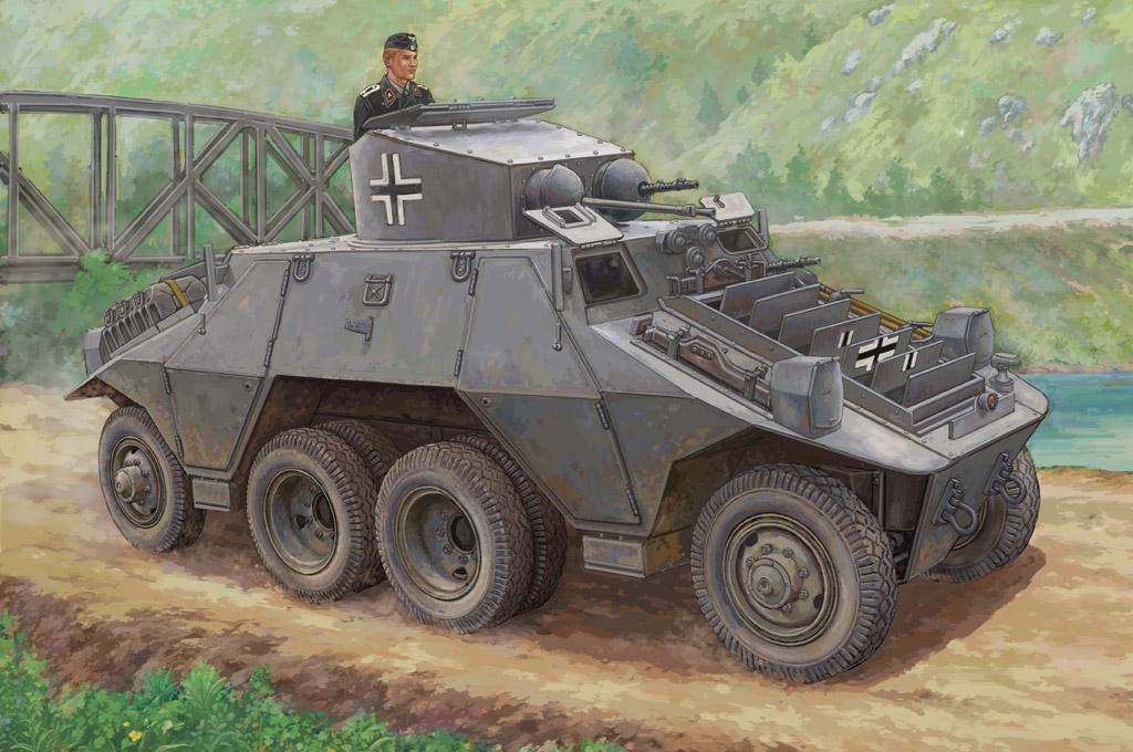 Hobby Boss 1/35 M35 Mittlere Panzerwagen (ADGZ-Steyr)