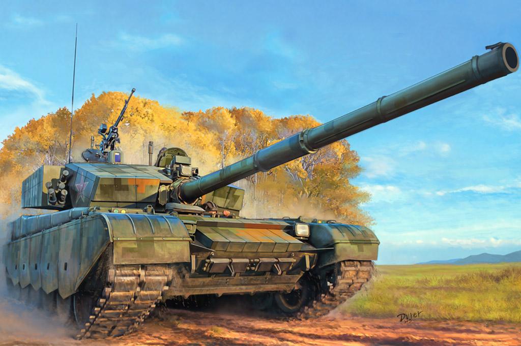 Hobby Boss 1/35 PLA ZTZ-99A MBT