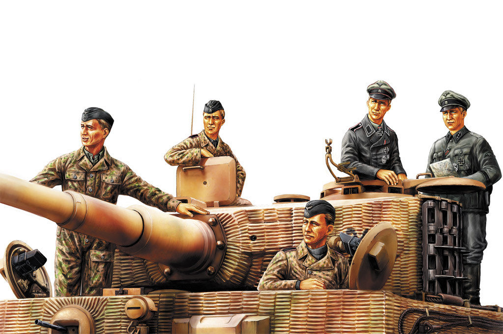 Hobby Boss German Panzer Tank Crew (Normandy 1944)