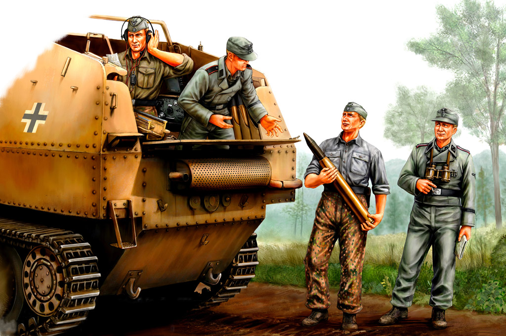 Hobby Boss German SPG Crew