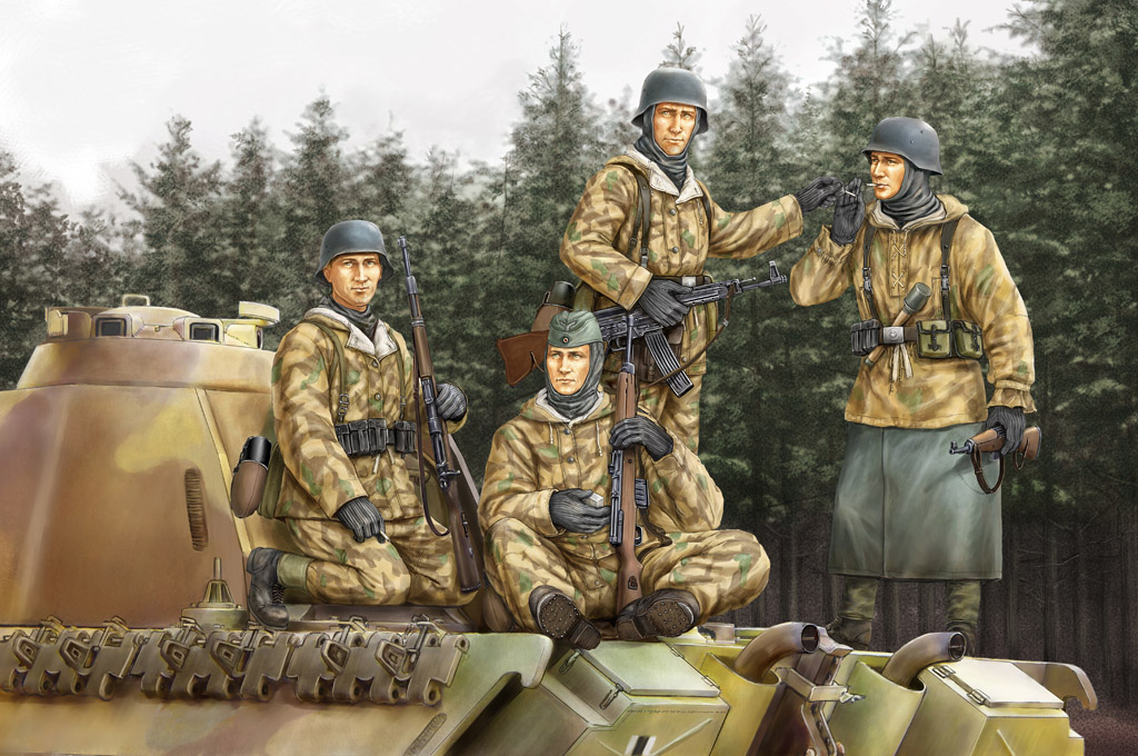 Hobby Boss German Panzer Grenadiers Vol.1