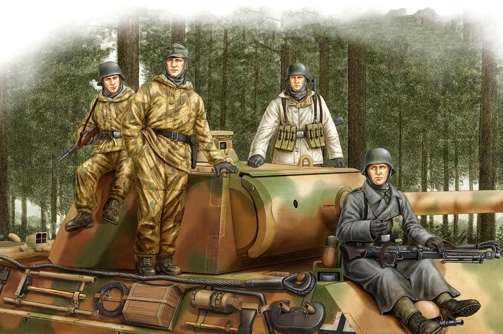 Hobby Boss 1/35 German Panzer Grenadiers Vol.2