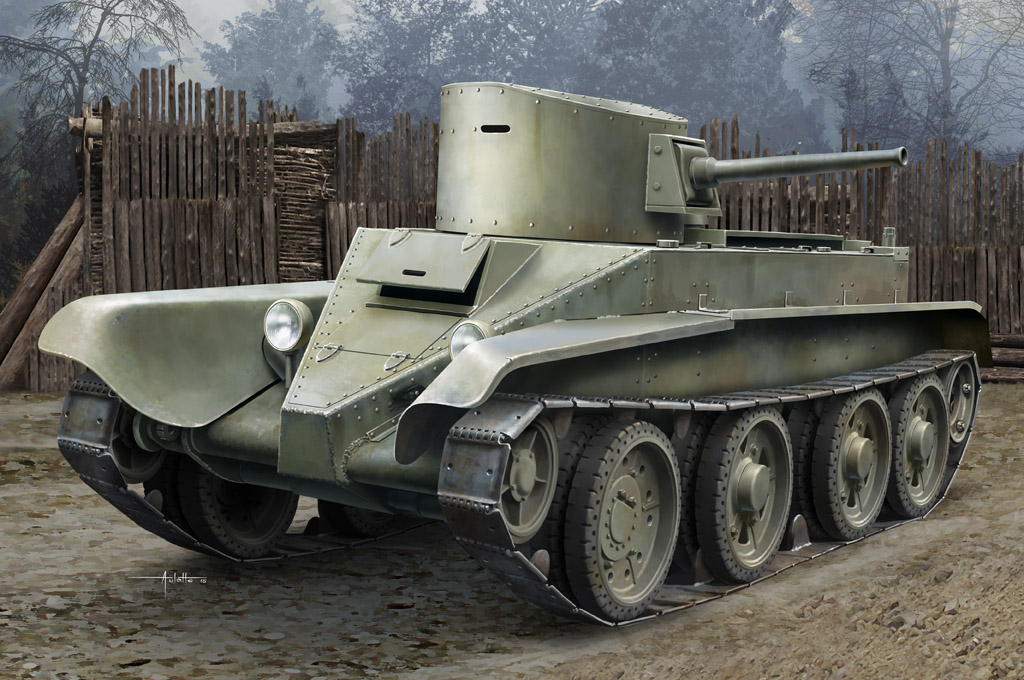 Hobby Boss  [Soviet BT-2 Tank(early)]