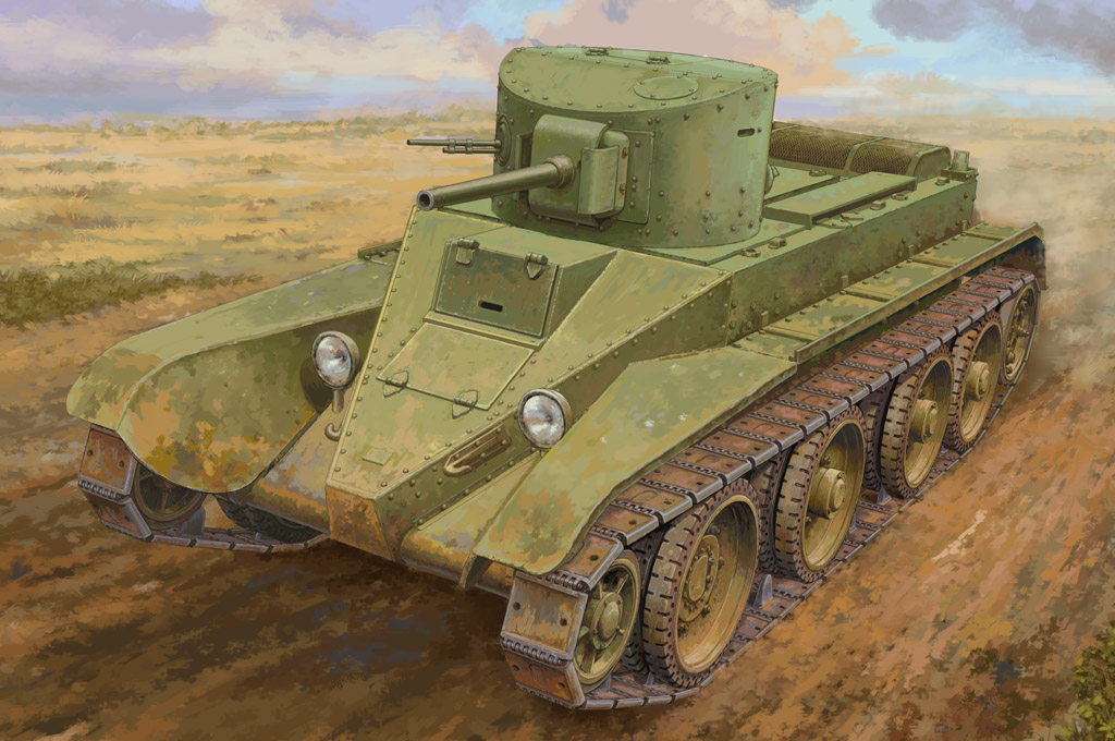 Hobby Boss Soviet BT-2 Tank(medium)
