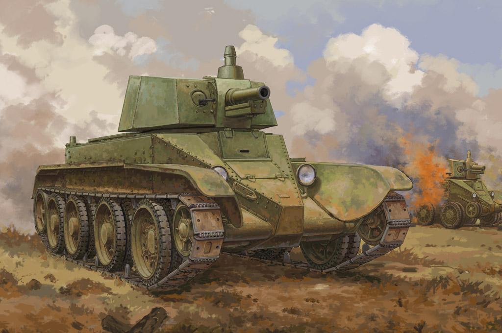 Hobby Boss 1/35 Soviet D-38 Tank
