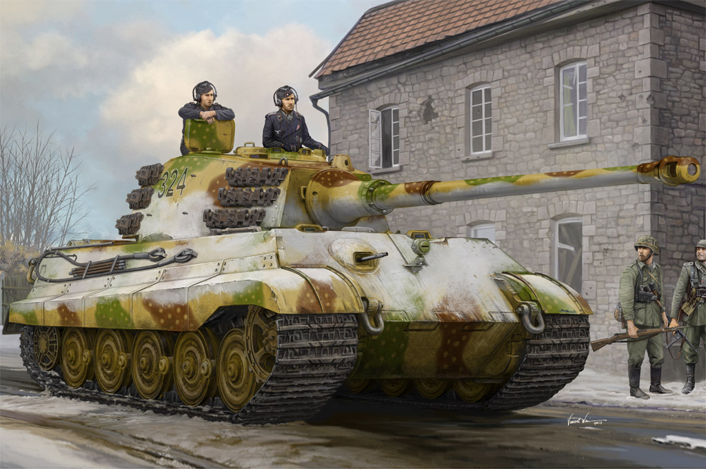 Hobby Boss Pz.Kpfw.VI Sd.Kfz.182 Tiger II (Henschel Feb-1945 Production)