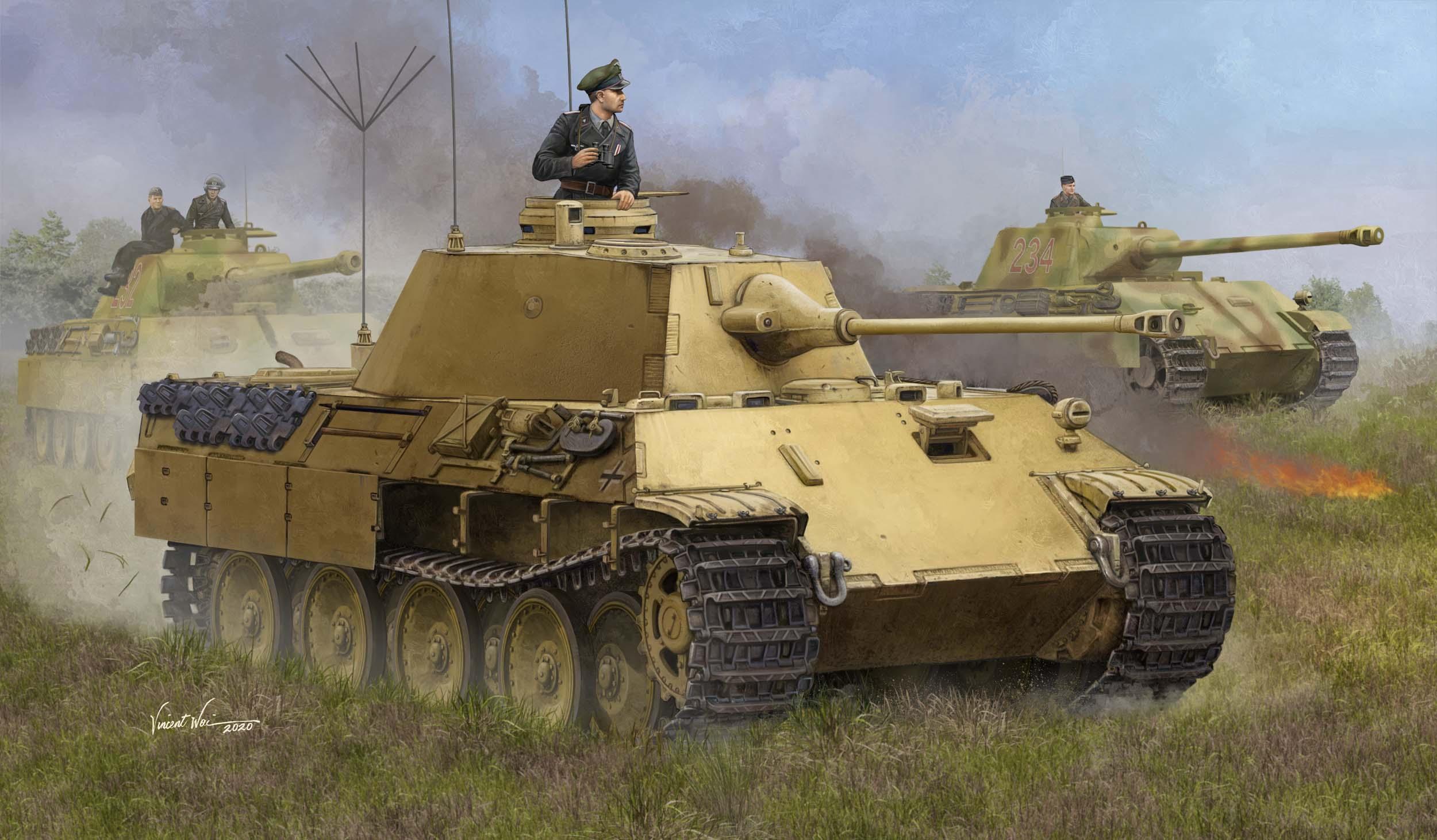 Hobby Boss 1/35 German PZ.BeobWG V Ausf.A Tank