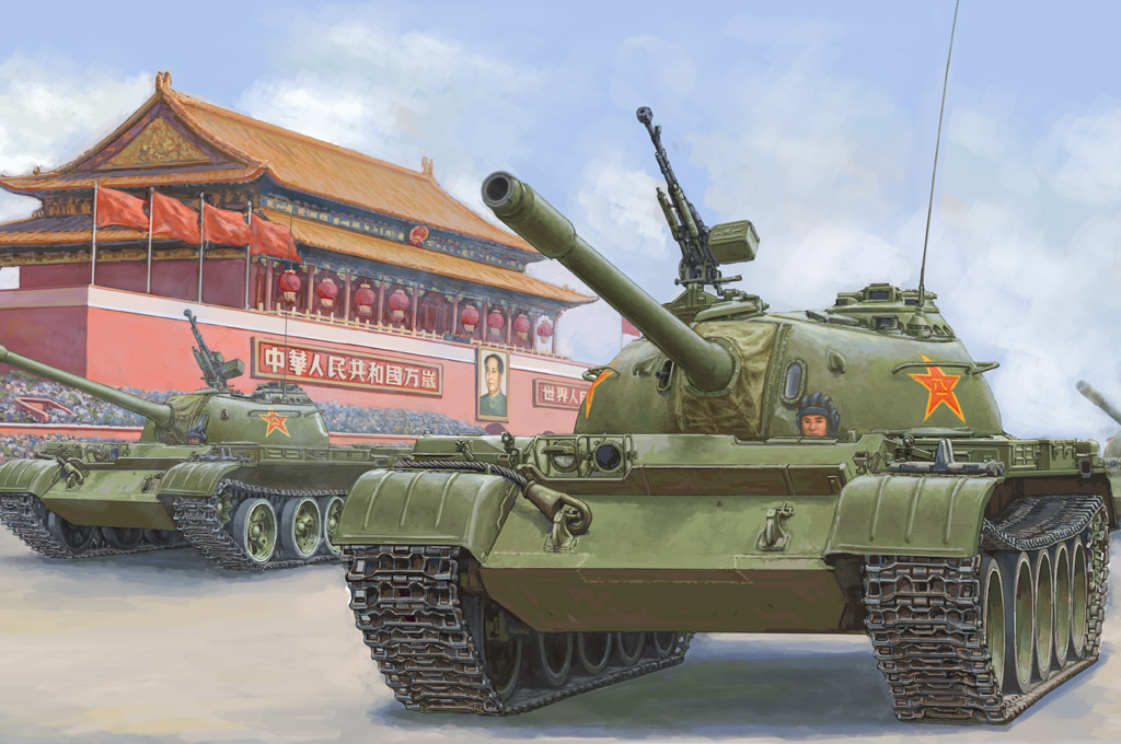 Hobby Boss PLA 59 Medium Tank-early