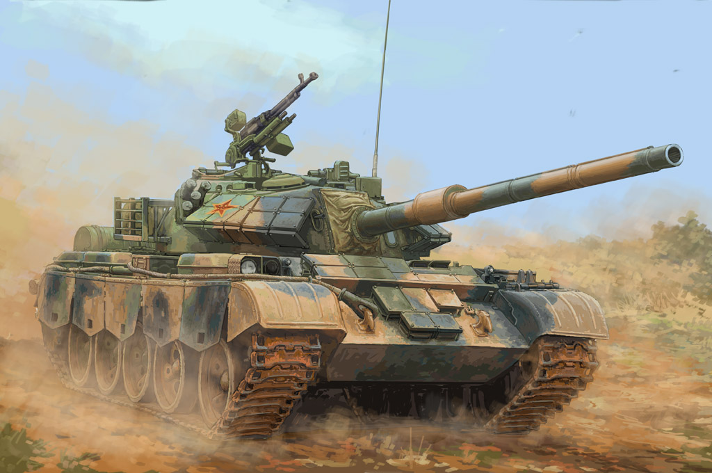 Hobby Boss 1/35 PLA Type-59-D Medium Tank