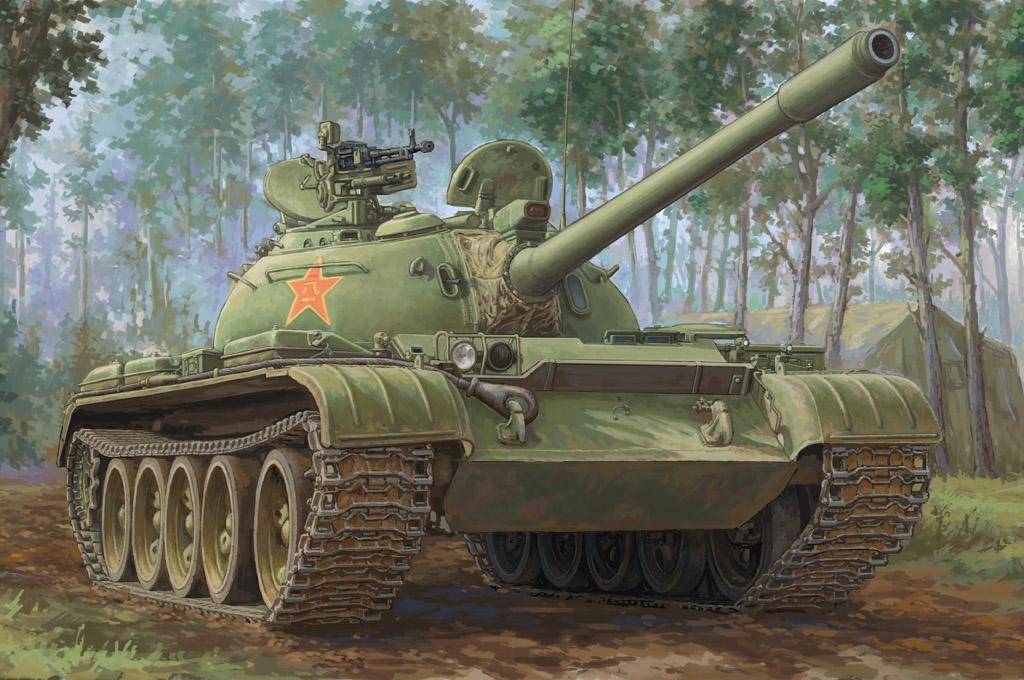 Hobby Boss 1/35 PLA 59-1 Medium Tank
