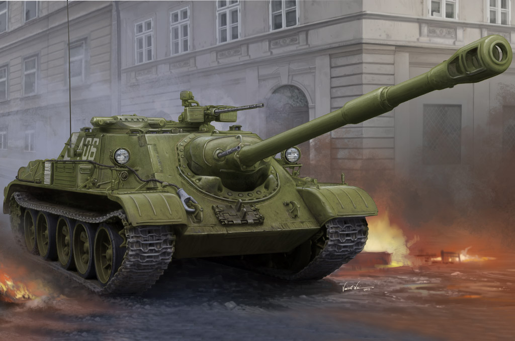 Hobby Boss Soviet SU-122-54 Tank Destroyer