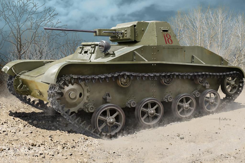 Hobby Boss 1/35 Soviet T-60 Light Tank