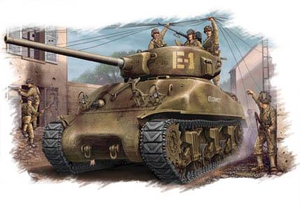 Hobby Boss 1/48 M4A1 76(W) Tank