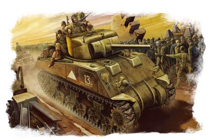 Hobby Boss 1/48 M4 Tank (Mid-Model)