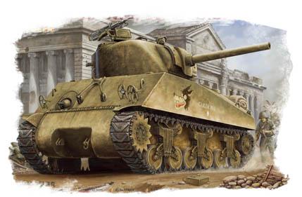 Hobby Boss 1/48 M4A3 Tank