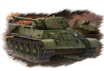 Hobby Boss Russian T-34/76 (1942 No.112) tank