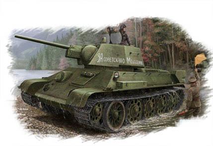 Hobby Boss 1/48 Russian T-34/76 (1943 No.112)Tank